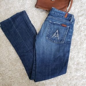7 For All Mankind A Pocket style medium wash jeans